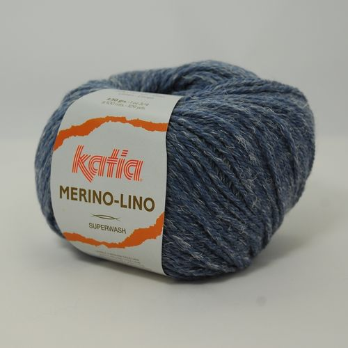 MERINO LINO 50g Wolle Fb. 507 Jeans